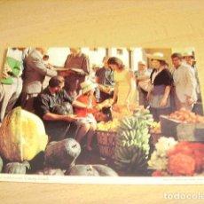 Postales: LAS PALMAS DE GRAN CANARIA- MERCADO DE FRUTOS DE LAS ISLAS. Lote 155377622