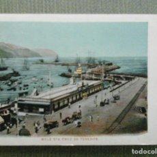 Postales: POSTAL MOLE STA CRUZ DE TENERIFE. Lote 155431666