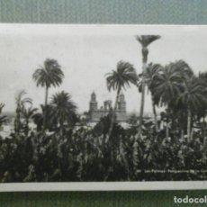 Postales: POSTAL LAS PALMAS - PERSPECTIVA DE LA CATEDRAL. Lote 155434050