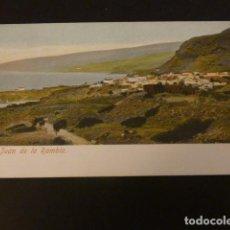 Postales: SAN JUAN DE LA RAMBLA TENERIFE VISTA POSTAL REVERSO SIN DIVIDIR. Lote 155461630