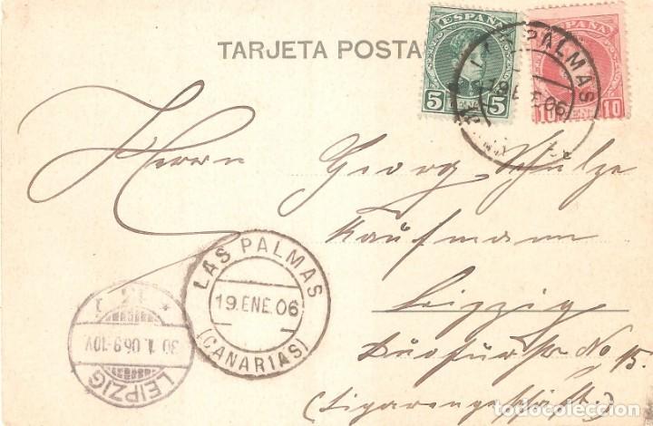 Postales: GRAN CANARIA LAS PALMAS 1906 - Foto 3 - 155656906