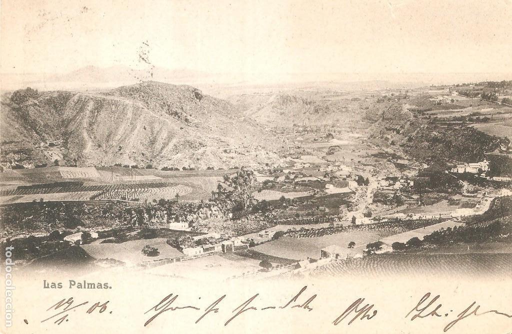 GRAN CANARIA LAS PALMAS 1906 (Postales - España - Canarias Antigua (hasta 1939))