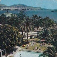 Postales: LAS PALMAS DE GRAN CANARIA, PISCINA DEL HOTEL SANTA CATALINA. Lote 155779310