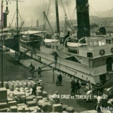 Postales: SANTA CRUZ DE TENERIFE. MUELLE. HACIA 1920. JG. Nº 30.. Lote 156305014