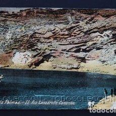 Postales: POSTAL LAS PALMAS EL RIO LANZAROTE CANARIAS . CA AÑO 1905. Lote 156534914