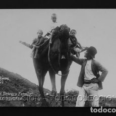 Postales: POSTAL CANARIAS CAMEL AND DRIVERS FAMILY CAMELLO CONDUCTOR Y FAMILIA . F. BAENA CA AÑO 1920. Lote 156535918