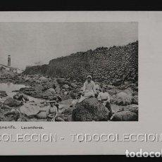 Postales: POSTAL CANARIAS TENERIFE LAVANDERAS . NOBREGA'S ENGLISH BAZAR CA AÑO 1900. Lote 156536106