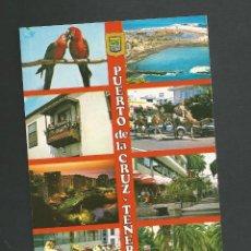 Postales: POSTAL SIN CIRCULAR - PUERTO DE LA CRUZ 7 - TENERIFE - EDITA ESCUDO DE ORO. Lote 156606234