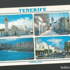Postales: POSTAL SIN CIRCULAR - TENERIFE 2112 - CANDELARIA - SERIE VIDA Y COLOR - EDITA GARCIA Y CORREA. Lote 156611814