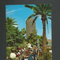 Postales: POSTAL SIN CIRCULAR - LAS PALMAS DE GRAN CANARIA 2037 - VENDEDORES HIPPIES - EDITA MONTERO. Lote 156612770