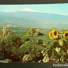 Postales: TENERIFE (CANARIAS) TEIDE Y VALLE DE LA OROTAVA - ED. RO - AÑOS 70 - CANARIAS. Lote 156795666