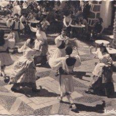 Postales: LAS PALMAS (CANARIAS) - BAILES TIPICOS - PUEBLO CANARIOS. Lote 157807286