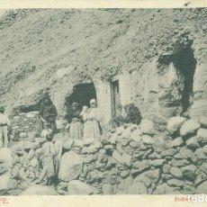 Postales: TENERIFE. PEDRERO. CAMPESINOS. CIRCULADA EN 1903. RARA. Lote 157914786