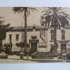 Cartes Postales: LAS PALMAS. ALAMEDA DE COLÓN J.P.M.. Lote 158049606