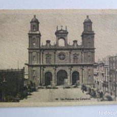 Postales: LAS PALMAS. LA CATEDRAL. RAFAEL ROMERO. Lote 158067278