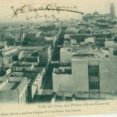 Postales: LAS PALMAS CALLE DEL CANO CIRCULADA EN 1903.. Lote 159949734