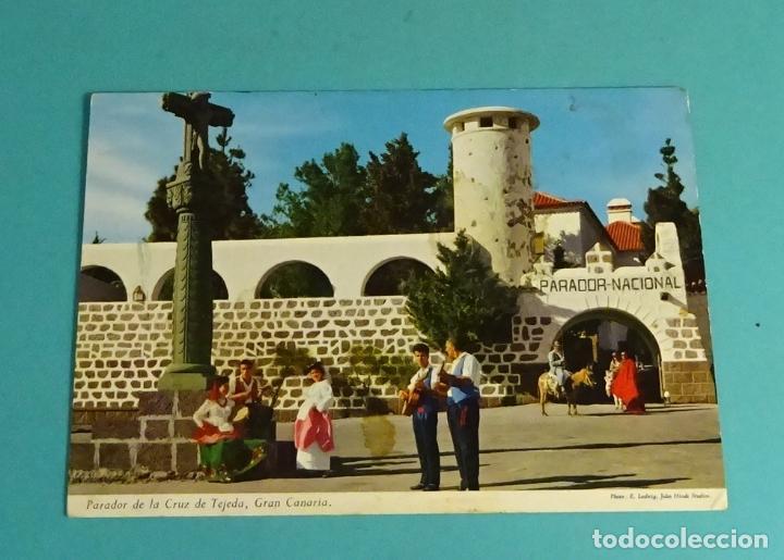 PARADOR DE LA CRUZ DE TEJEDA, GRAN CANARIA (Postales - España - Canarias Moderna (desde 1940))