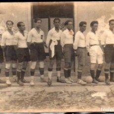 Postales: FUTBOL 1925 - CAMPEONES DEL NORTE DE TENERIFE - FOTOGRAFICA - MUY RARA. Lote 160216922
