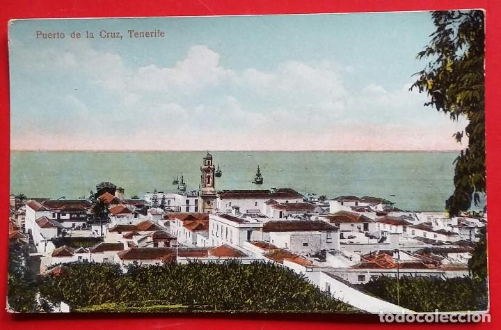 PUERTO DE LA CRUZ, TENERIFE. VICENTE CARTAYA. FOTOGRAFIA M. BENÍTEZ. Nº 8839. (Postales - España - Canarias Antigua (hasta 1939))