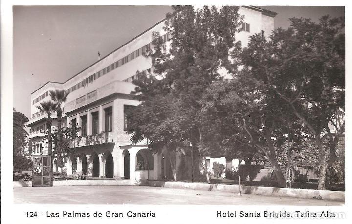 HOTEL SANTA BRIGIDA - 124 - LAS PALMAS GRAN CANARIA - ARRIBAS (Postales - España - Canarias Moderna (desde 1940))