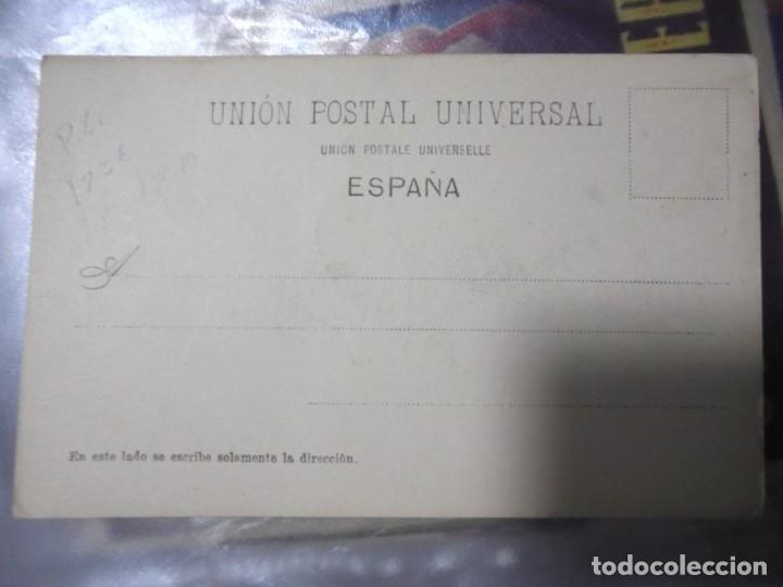 Postales: TARJETA POSTAL. LAS PALMAS. GRAN CANARIA. RUDOLF SCHIMRON. 1898. REVERSO NO DIVIDIDO - Foto 2 - 115690491