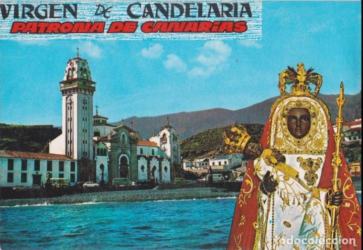 VIRGEN DE CANDELARIA, PATRONA DE CANARIAS - EDICIONES GASTEIZ Nº 2742 - S/C (Postales - España - Canarias Moderna (desde 1940))