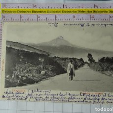 Postais: POSTAL DE TENERIFE. SIGLO XIX - 1905 . PICO TEIDE DESDE LA MATANZA. BAZAR INGLÉS. 598. Lote 161843814