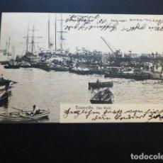 Postales: TENERIFE THE MOLE. Lote 164625010