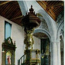Postales: TENERIFE-LA LAGUNA IGLESIA DE LA CONCEPCIÓN DETALLE ARTÍSTICO. Lote 164727850