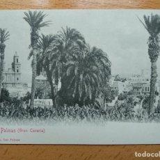 Postales: POSTAL LAS PALMAS GRAN CANARIA . BAZAR ALEMAN . Lote 164922182