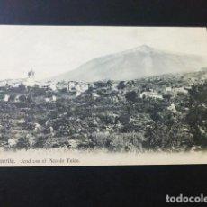 Postales: TENERIFE ICOD CON EL PICO DE TEIDE. Lote 165003858