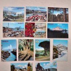 Postales: LOTE DE 12 POSTALES DE TENERIFE. ISLAS CANARIAS. Lote 165347373