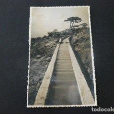 Postales: TENERIFE AGUAS DEL SUR CANAL CONDUCCION POSTAL FOTOGRAFICA 1943. Lote 165768758