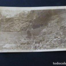 Postales: AGUAJILVA LA GOMERA CAMINO VECINAL CONSTRUCCION POSTAL FOTOGRAFICA 1943. Lote 165769878