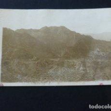 Postales: VALLEHERMOSO LA GOMERA VISTA CARRETERA AGULO POSTAL FOTOGRAFICA 1943. Lote 165771394