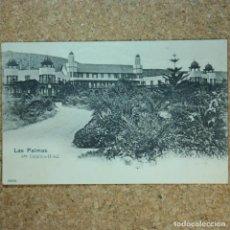 Postales: POSTAL LAS PALMAS, HOTEL STA. CATALINA, N° 13890, AÑO 1903. (ESCRITA POR DETRAS). Lote 166579122