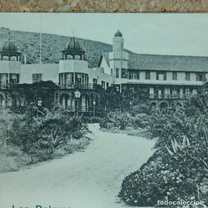 Postales: Postal Las Palmas, Hotel Sta. Catalina, N° 13890, año 1903. (escrita por detras) - Foto 2 - 166579122