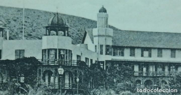 Postales: Postal Las Palmas, Hotel Sta. Catalina, N° 13890, año 1903. (escrita por detras) - Foto 3 - 166579122