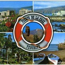 Postales: Nº TF 25 - TENERIFE. PUERTO DE LA CRUZ. CIRCULADA EN 1979. ED. GLOBAL TRADERS.. Lote 166810162
