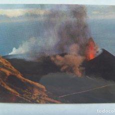 Postales: POSTAL DE LA ISLA DE LA PALMA ( CANARIAS ) : VOLCAN TENEGUIA , FUENCALIENTE , ERUPCION DE 1971. Lote 167173540