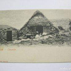 Cartoline: CHOZA-TENERIFE-REVERSO SIN DIVIDIR-ARTURO FUNES-VER FOTOS-(60.259). Lote 168086864
