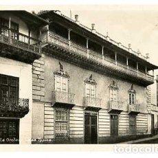 Postais: TENERIFE LA OROTAVA CASA TIPICA ED. FOTO CENTRAL. ESCRITA. Lote 169338616