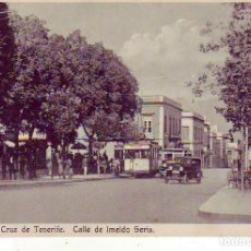 Postales: CALLE IMELDO SERIS - SANTA CRUZ DE TENERIFE. Lote 169537112