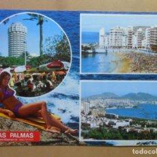 Postales: POSTAL - 2929 - ISLAS CANARIAS - LAS PALMAS (GRAN CANARIA) - ED. PERLA. Lote 169551116