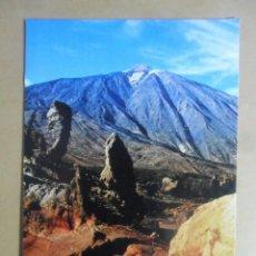 Postales: POSTAL - TENERIFE - LOS ROQUES Y TEIDE AL FONDO - 1978. Lote 169552164