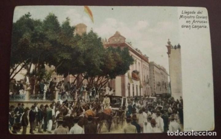 POSTAL LAS PALMAS DE 1905 (Postales - España - Canarias Antigua (hasta 1939))