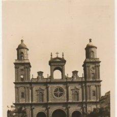 Postales: POSTAL DE CANARIAS. LAS PALMAS DE GRAN CANARIA. CATEDRAL P-CAN-737. Lote 171101993
