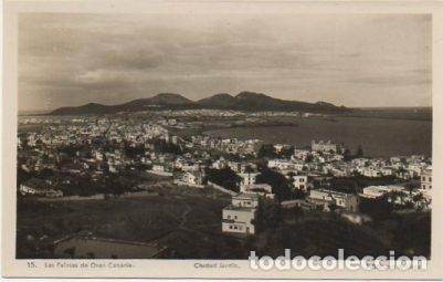 POSTAL DE CANARIAS. LAS PALMAS DE GRAN CANARIA. CIUDAD JARDIN P-CAN-740 (Postales - España - Canarias Moderna (desde 1940))