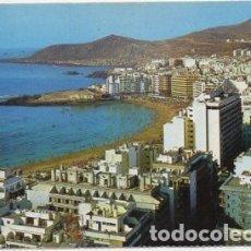 Postales: POSTAL DE CANARIAS. LAS PALMAS DE GRAN CANARIA. PLAYA LAS CANTERAS P-CAN-741. Lote 171102230