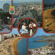 Postales: POSTAL DE CANARIAS. LAS PALMAS DE GRAN CANARIA. CINCO VISTAS P-CAN-742. Lote 171103384